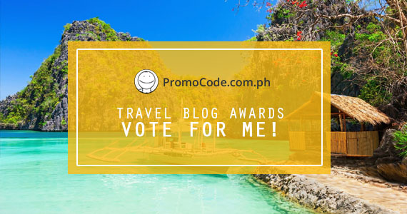 Promo Code PH Travel Blog Awards 2017