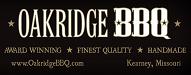 oakridge BBQ