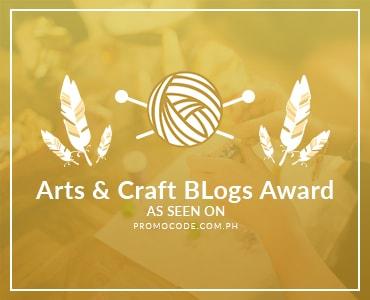 Arts & Craft Blogs Award 2017