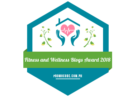 Banners for Fitness & Wellness Blogs Awards 2018