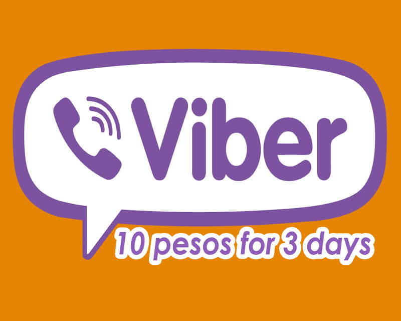 Viber recharge online ph