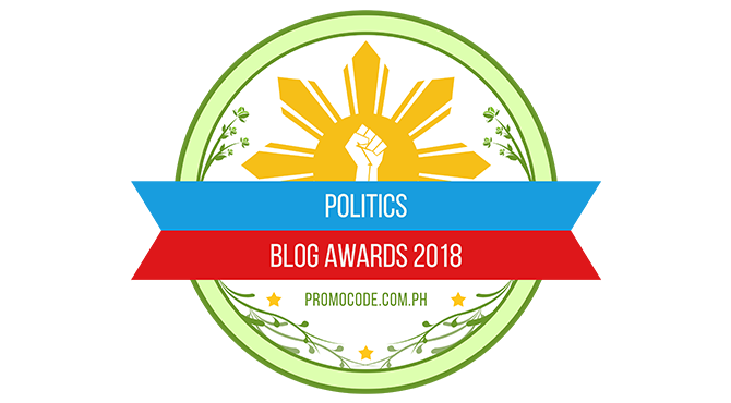 Banners for Politics Blogs Award 2018