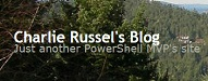 Charlie Russel's Blog