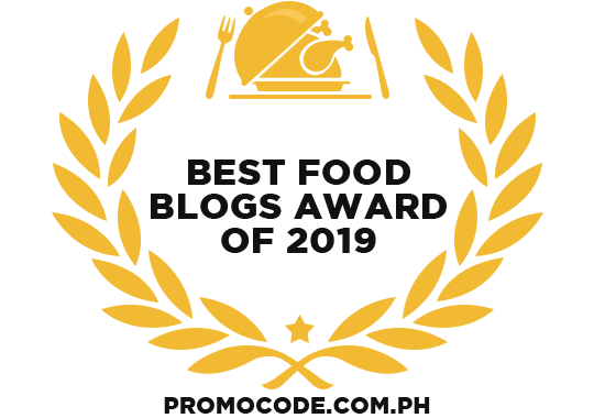 Banners for Best Food Blogs Award of 2019