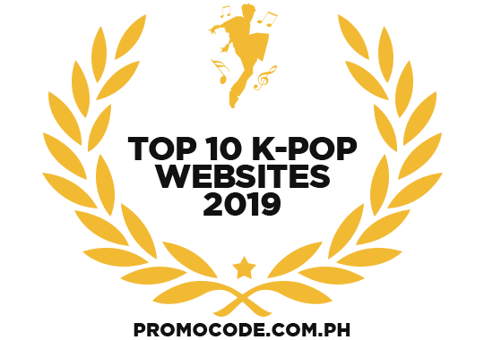 Banners for Top 10 K-Pop Websites 2019